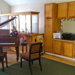 Your piano lessons will sound awesome in our facility.